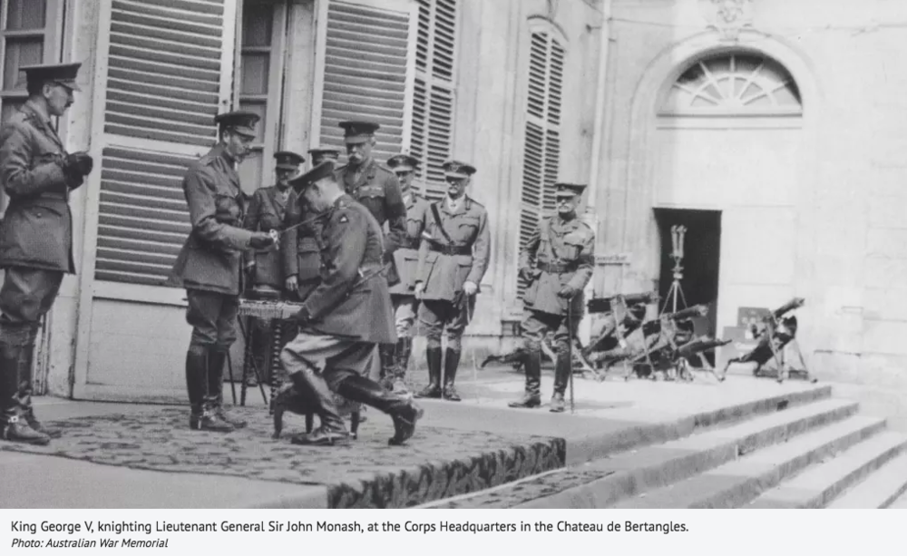 """""""The General will be a feature film about the life and legacy of Sir General John Monash"""""""